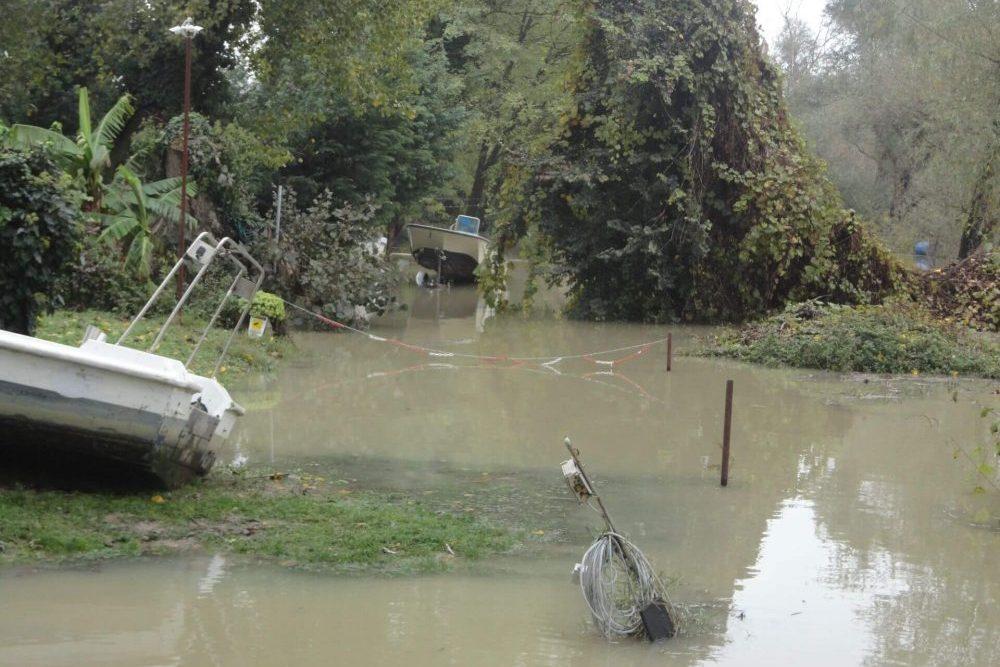 Waller Resort Polesella Hochwasser-e1541347495281 Unwetter und Hochwasser im Waller Resort